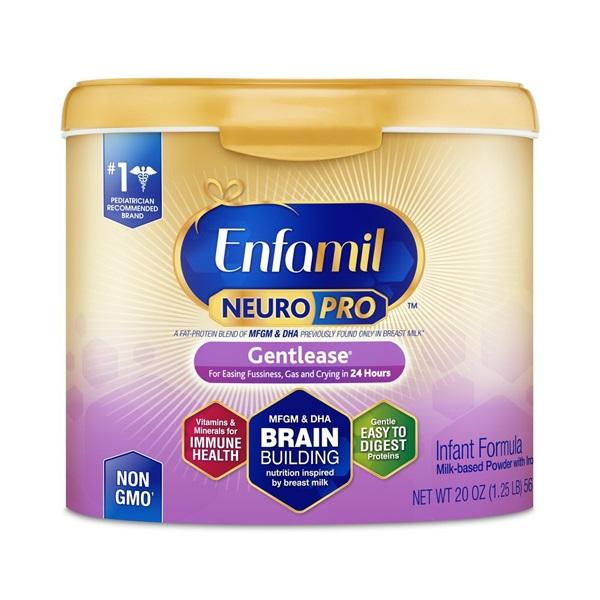 Sữa Enfamil NeuroPro Gentlease màu tím